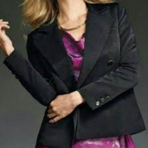 cAbi Colette Ponte Cropped Blazer